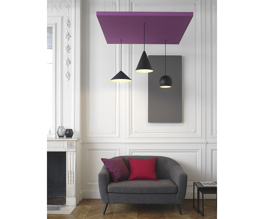 Ambiances de la collection AIRPANEL LUMINAIRE